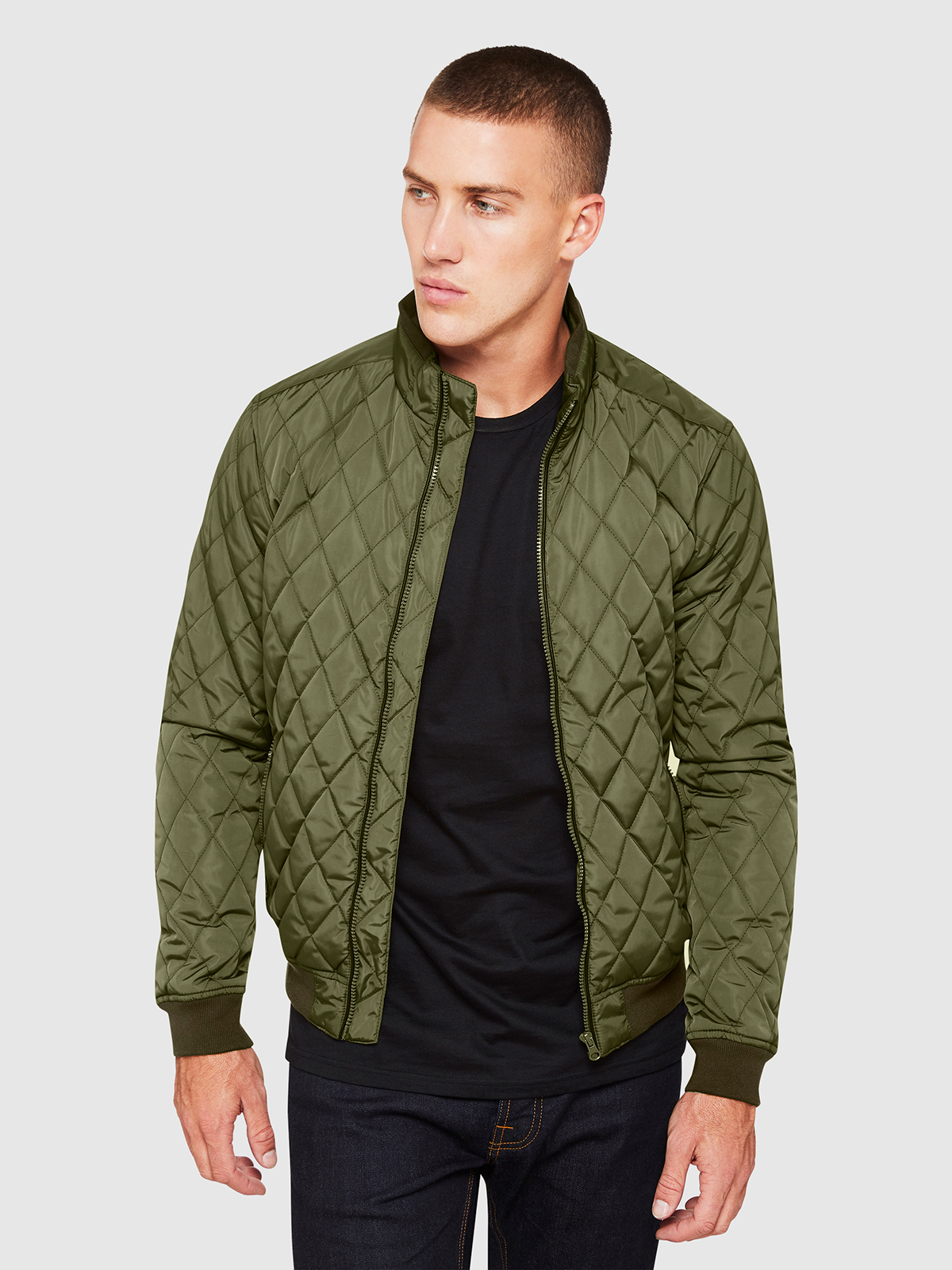 top-rated real attractive & durable store Details about BENJAMIN QUILTED PUFFA JACKET X MENS JACKETS AND COATS